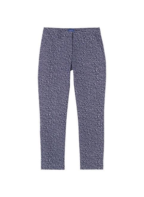 Gant Desenli Pantolon Lacivert